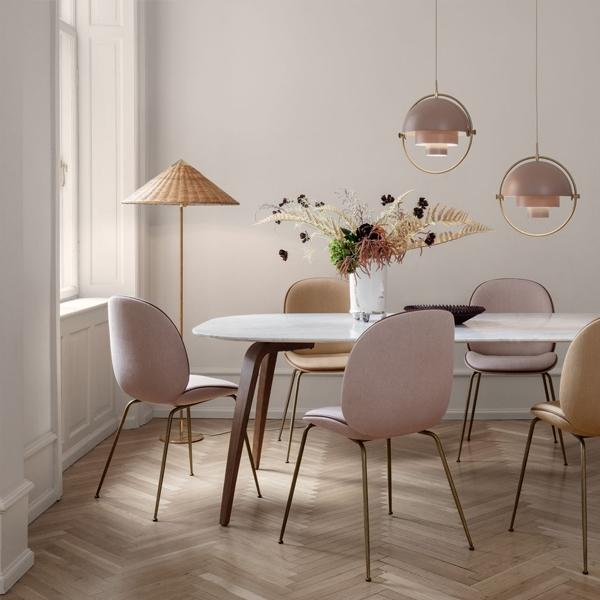 Gubi Tynell Collection 9602 Floor Lamp, Dining Room Floor Lamps